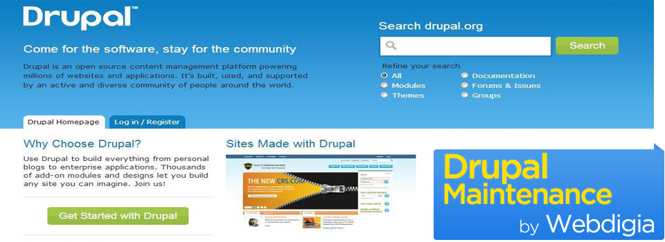 Drupal Maintenance and Management