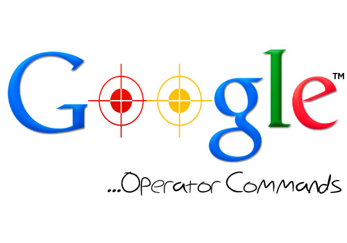 Google Operator Commands